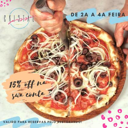 Cristal Pizza Bar no Restorando